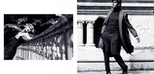 (L) shirt Giuliano Fujiwara - trousers Calvin Klein. (R) shirt Giuliano Fujiwara - trousers Calvin Klein