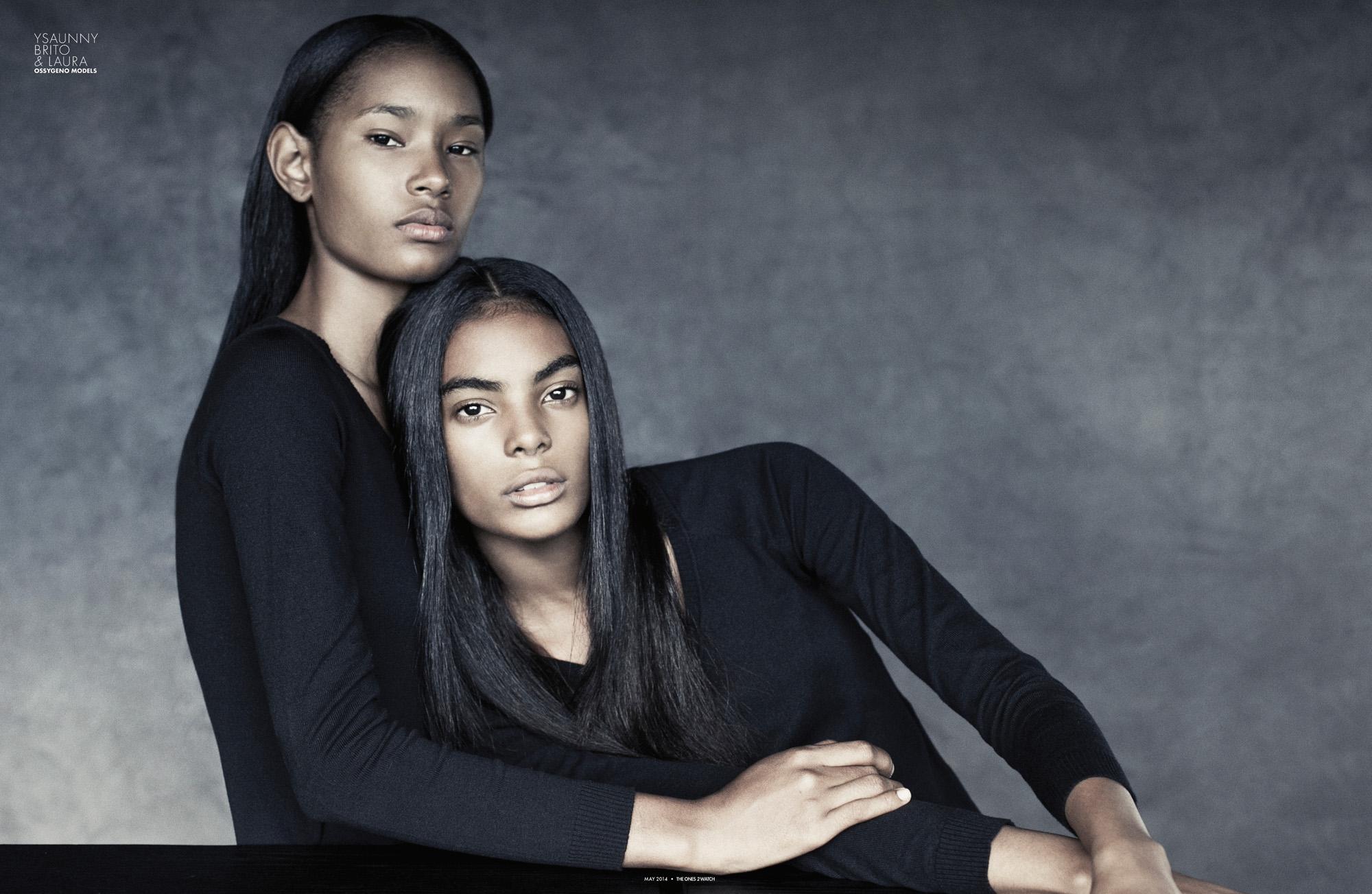 YSAUNNY BRITO  & LAURA @ OSSYGENO MODELS