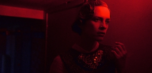 Top Glenn Martens by Ra; 'Benitia' neckpiece Romain Brau Couture.