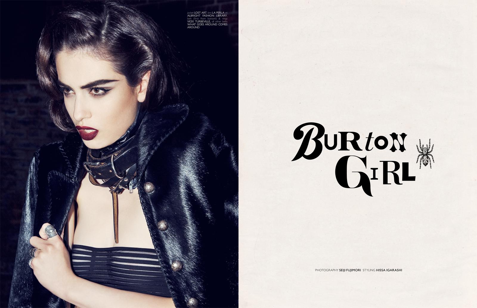 burton girl
