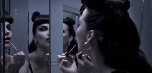 dress Jean Paul Gaultier - earrings stylist's own.