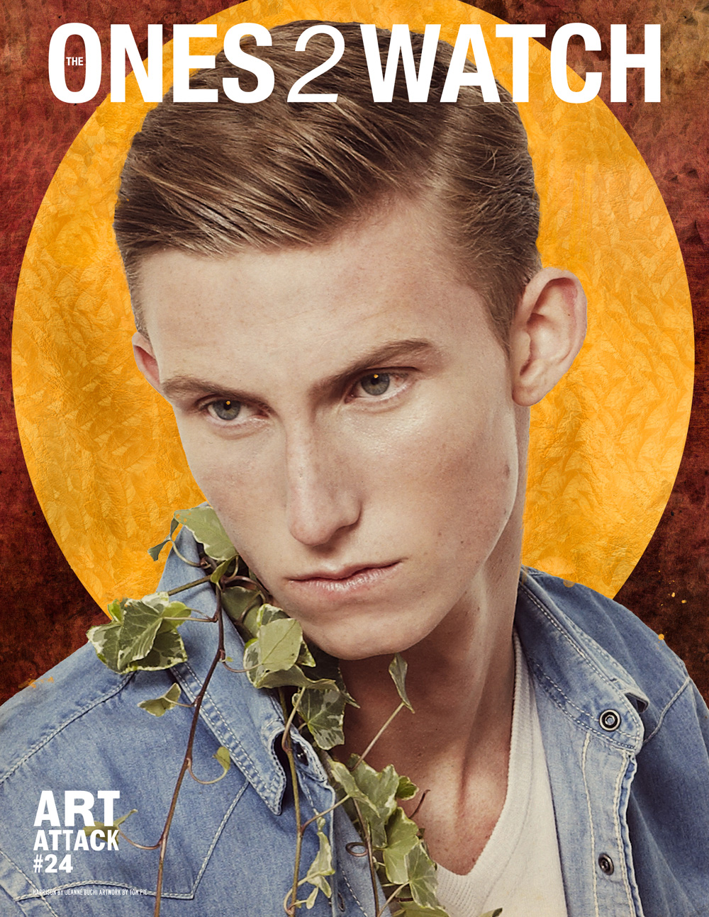Issue #24 - Harrison by Jeanne Buchi, styling Rickardo Maxwell, cover artwork Tom Pie