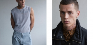 left: shirt & pants Hien Lee, chain model's own | right: jacket Raphael Hauber, shirt Herr von Eden.