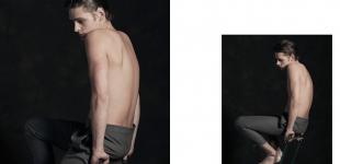 Matthijs wears trousers  Florian Feder