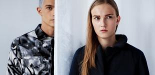 Lauri wears jacket Laitinen. Anna wears jacket Sofia Järnefelt.