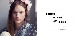 shirt Beyond Retro - dungarees Carin Wester - flower tiara Nicole Walker
