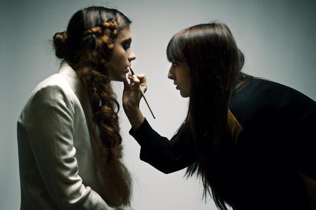 Marina Ramirez, makeup artist